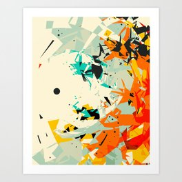 CRASH 7 Art Print