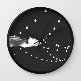 Festival lights Wall Clock