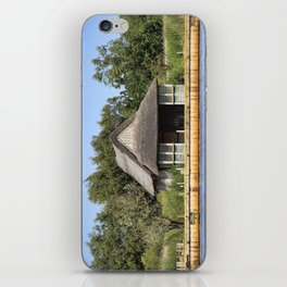 Horsey mere thatched cottage iPhone Skin