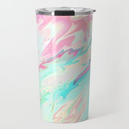 Sea of Spring Travel Mug