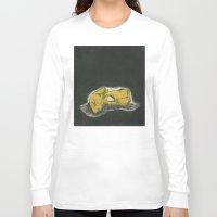 teeth Long Sleeve T-shirts featuring Teeth by Tallie Raye