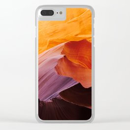 Canyon Colors Clear iPhone Case