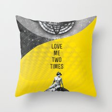 Love me two times (Rocking Love series) Throw Pillow