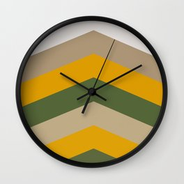 Moraccon chevron Wall Clock