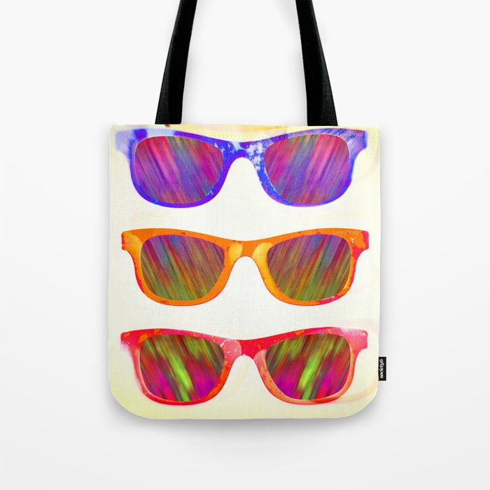 Sunglasses In Paradise Tote Bag