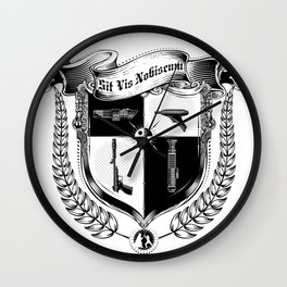Sit Vis Nobiscum Wall Clock