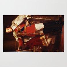 The King     Elvis Presley Rug