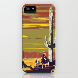 National Parks 2050: Sagauro iPhone Case