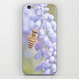 Purple Bee iPhone Skin
