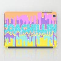 coachella iPad Cases featuring Coachillin' by Sara Eshak