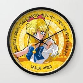 Sailor Venus - Crystal Intro Wall Clock