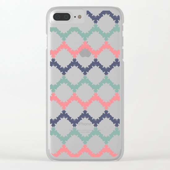 Thinking About Azulejos Clear iPhone Case