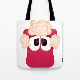 Bubble Beasts: Shocking Strawberry Fur Softener Tote Bag
