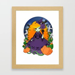 The Violet Witch Framed Art Print