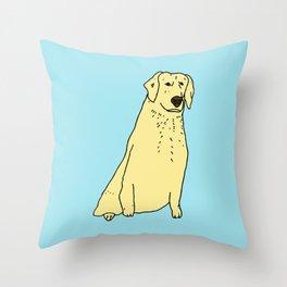 Proud Dog Throw Pillow