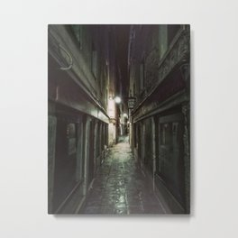 Midnight in Venice. Fine art travel photography. Metal Print