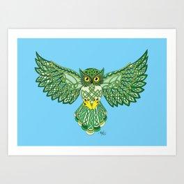 Celtic Flight Art Print
