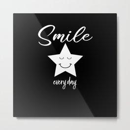 Smile Star Metal Print