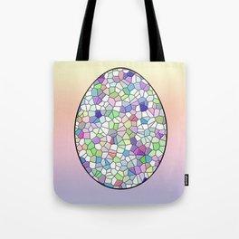 Mosaic Egg Tote Bag