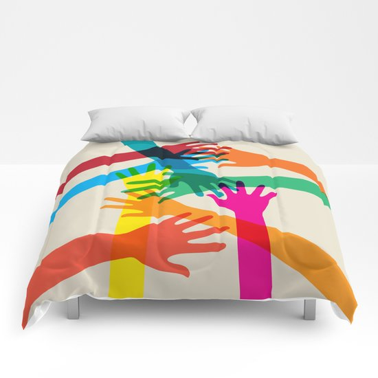 Hands #001 Comforters