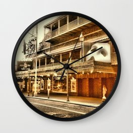 Give My Regards To Broadway Wall Clock