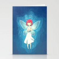 tooth Stationery Cards featuring Tooth Fairy by Freeminds