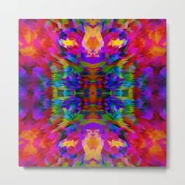 I lOVE COLORS Metal Print