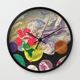 Under the galaxsea Wall Clock