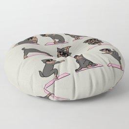 Rottweiler Yoga Floor Pillow