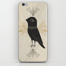 Black Bird iPhone Skin