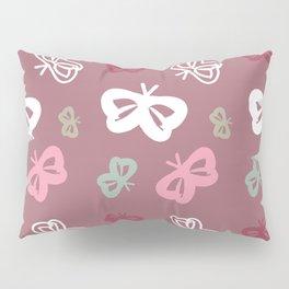 Flying Butterflies Pattern Full Color Pillow Sham