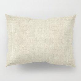 """""""Nude Burlap Texture"""" Pillow Sham"""
