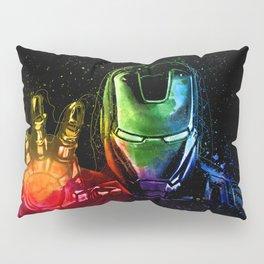 Avenger Infinity Wars Iron Man Abstract Painting - Iron Man Graffiti Pillow Sham