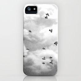 Soar Birds in Flight A610BW iPhone Case
