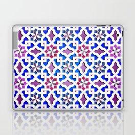 Beautiful oriental flower pattern 9 Laptop & iPad Skin