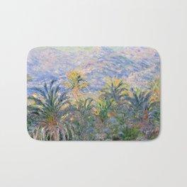 Claude Monet Palm Trees at Bordighera Bath Mat