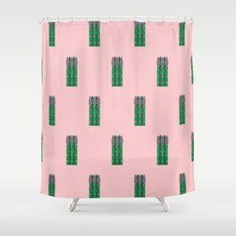 Vegetable: Asparagus Shower Curtain