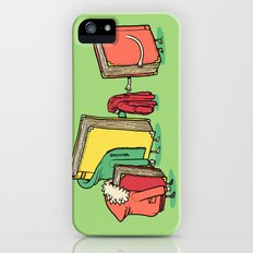 Book Jackets iPhone (5, 5s) Slim Case