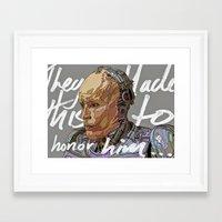 robocop Framed Art Prints featuring ROBOCOP by TidyDesigns