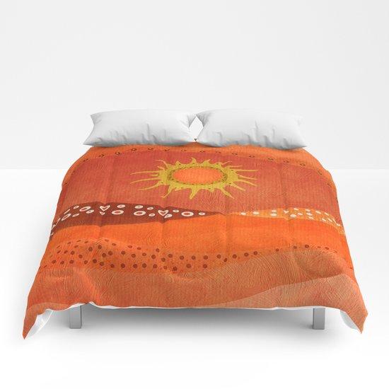 Color/Landscape 7 Comforters