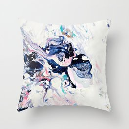 Paint Puddle #07 Throw Pillow
