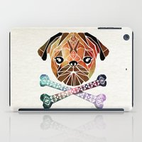 pug iPad Cases featuring pug by Manoou
