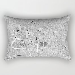 CDMX Rectangular Pillow