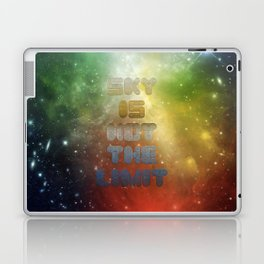 Sky is not the Limit Laptop & iPad Skin