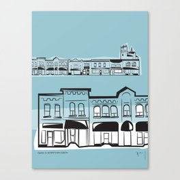 Quebec St Canvas Print