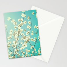 The dogwoods are blooming. Stationery Cards