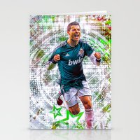 ronaldo Stationery Cards featuring VIVA RONALDO by Cr7izbest