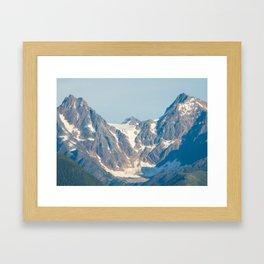 Boundary Range Mountains - 1 Framed Art Print