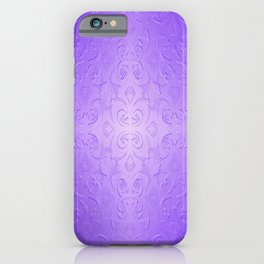Hepburn in Lavender iPhone Case