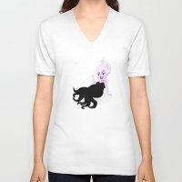ursula V-neck T-shirts featuring Ursula by Sara Showalter